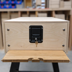 Clamshell - the Latching Drawer Front