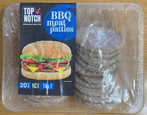 Top Notch BBQ Meat Patties