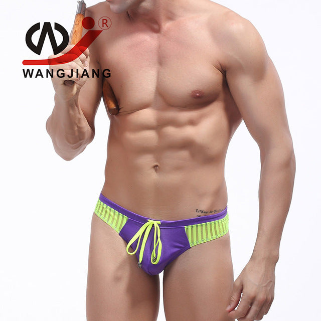 Men Swimwear Gay Thong