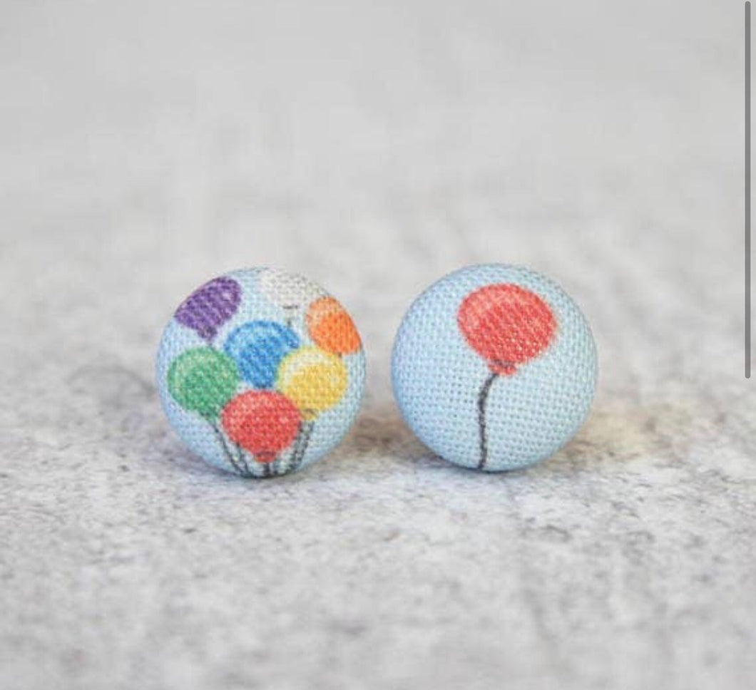 Earring Button Stud Balloons