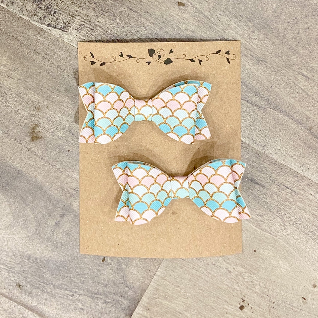 Bow Pastel Mermaid Set