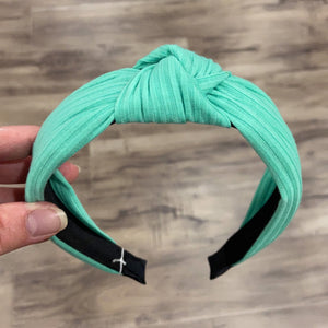 Headband Knot Mint Green