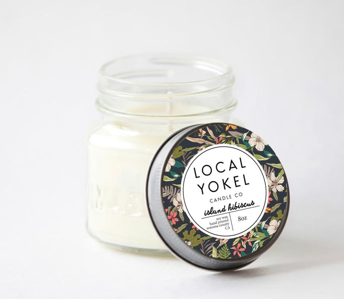 Candles Local Yokel Island Collection