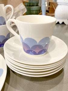 Vintage MCM Bone China Set