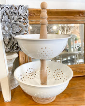 Vintage Reproduction Stacked Colander