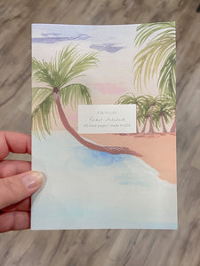 Journal In Paradise Water Color Cover