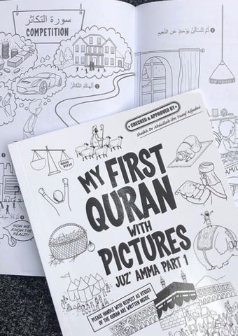My First Quran in Pictures - Coloring Book