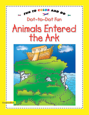 Animals Entered the Ark (Dot-to-Dot Fun)