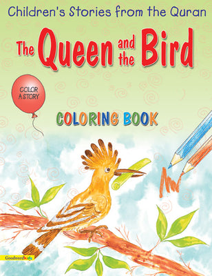 The Queen and the Bird (Colouring Book)