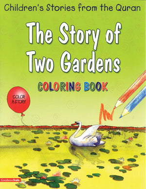 The Story of Two Gardens (Colouring Book)