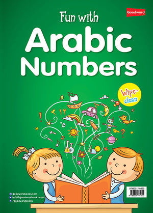 Fun with Arabic Numbers - wipe & clean book
