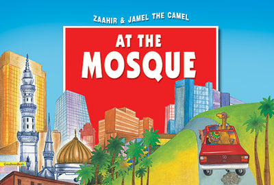 Zaahir & Jamel the Camel at the mosque