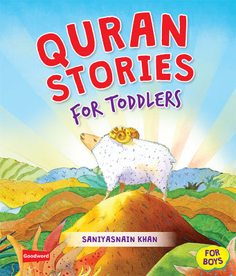 Quran Stories for Toddlers Board Book-Boys