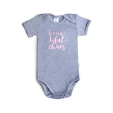 Beautiful chaos 100% cotton onesie