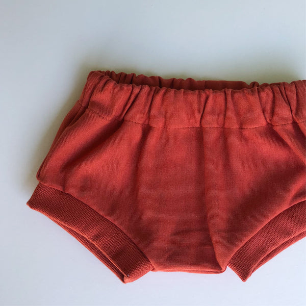 Terracotta summer shorts