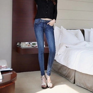 2019 Women's Autumn New Jeans Fashion Slim Fit - The Jewelry Barn