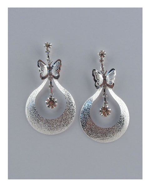Butterfly drop earrings - The Jewelry Barn