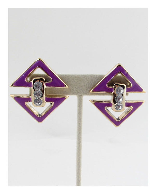 Triangle earrings - the-jewelry-barn