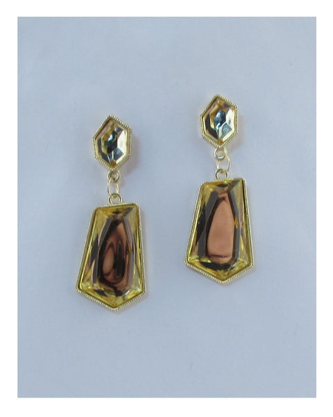 Faux stone drop earrings - The Jewelry Barn