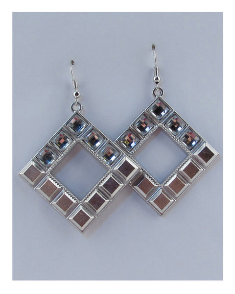 Drop rhombus earring - The Jewelry Barn