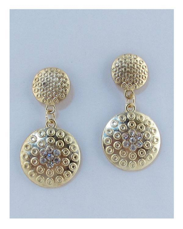Drop circle earrings - The Jewelry Barn