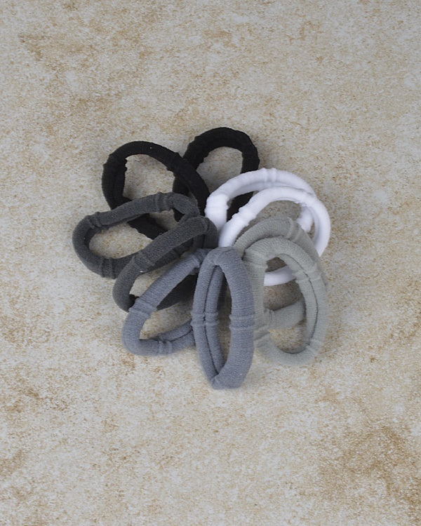 10Pcs  Elastic Hair Ties Band - the-jewelry-barn