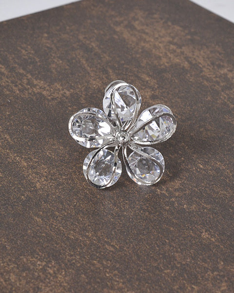 Floral Pattern 3D Adjustable Ring id.31463 - the-jewelry-barn