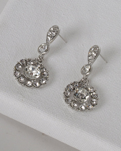 Drop Earrings with Post Back Closure - The Jewelry Barn
