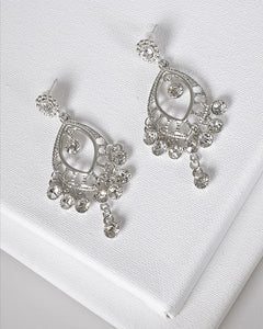 Crystal Embellished Danglers - the-jewelry-barn
