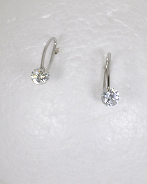 Ring Design Crystal Embellished Stud Earrings - the-jewelry-barn
