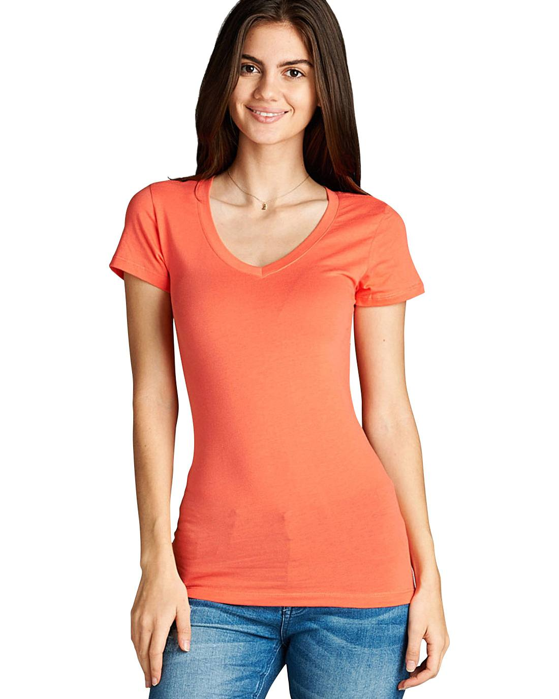 Stretchy short sleeves top - the-jewelry-barn
