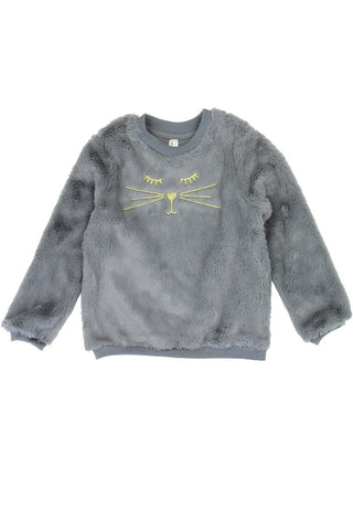Girls love @ first sight 2-4t cozy pullover - the-jewelry-barn