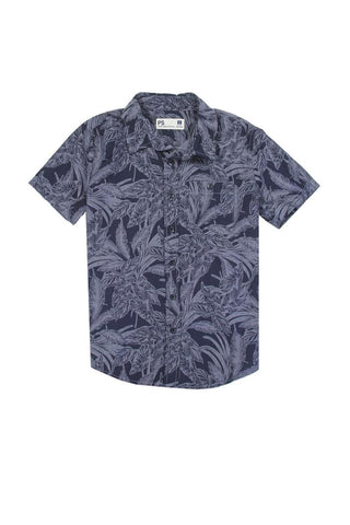 Boys aéropostale 8-14 button down shirt Navy - The Jewelry Barn