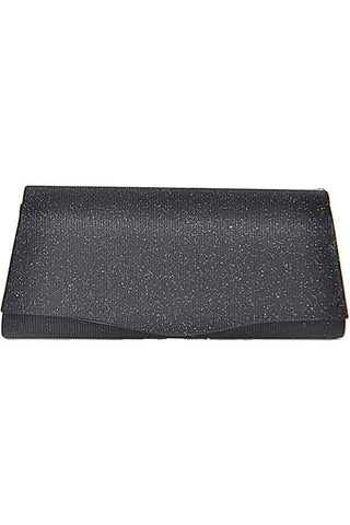 Rectangular shiny evening clutch - the-jewelry-barn