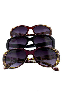 Womens ribbed whisker cat eye sunglasses - The Jewelry Barn
