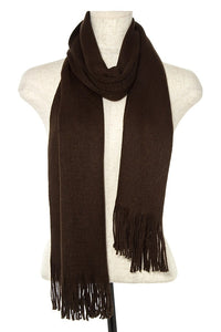 Oblong tassel end scarf - The Jewelry Barn