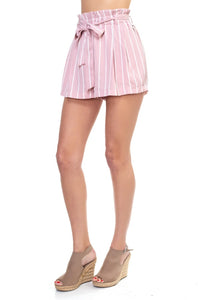 Stripe Mini Shorts - The Jewelry Barn
