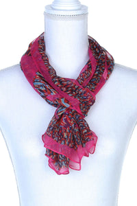 Colorful Pattern Oblong Scarf - The Jewelry Barn