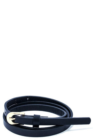 Modern Stylish Skinny Belt - the-jewelry-barn