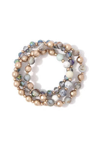 Beaded Stretch Bracelet - the-jewelry-barn