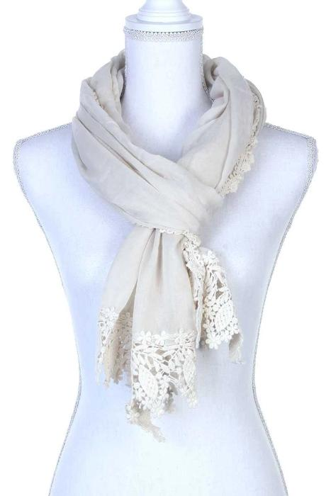 Plain Oblong Scarf - the-jewelry-barn