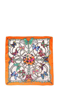 Butterfly Silky Bandanna - The Jewelry Barn