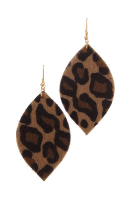 Animal Print Drop Earring - the-jewelry-barn
