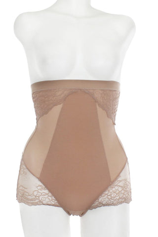 Mesh With Floral Lace Shapewear - the-jewelry-barn