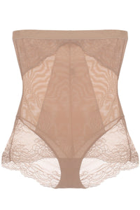 Mesh With Floral Lace Shapewear - The Jewelry Barn
