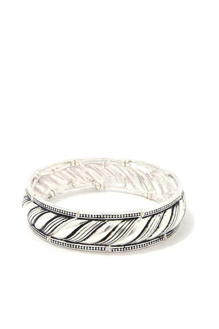 Metal Rope Stretch Bracelet - The Jewelry Barn