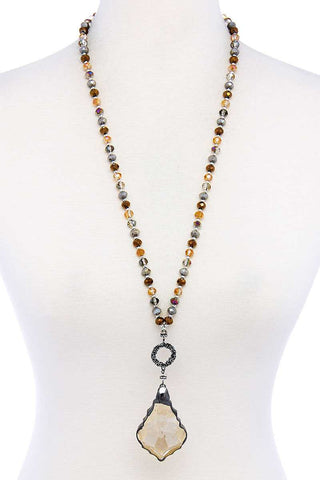 Fashion Chic Stylish Beaded Necklace - The Jewelry Barn