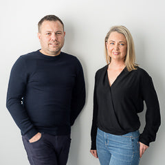 Erika and Gavin are co-founders of Smith and Smith lighting in Sydney Australia
