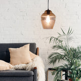 SMITH&SMITH Zarz Amber Glass Pendant Lamp insta