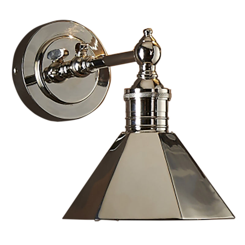 If you like the Emac & Lawton Mayfair Wall Sconce in Shiny Nickel, buy the Montgomery Shiny Nickel Sconce Wall Light from SMITH&SMITH, Australia's favourite decorative lighting store.